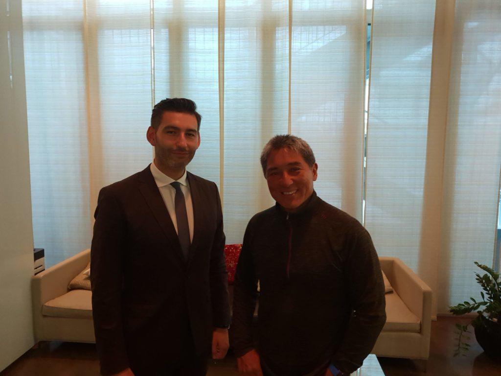 Guy Kawasaki with Gabriele Carboni